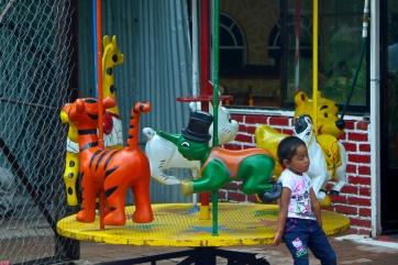 alone on the playground