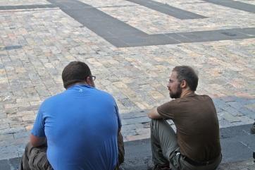 automatticians taking a break