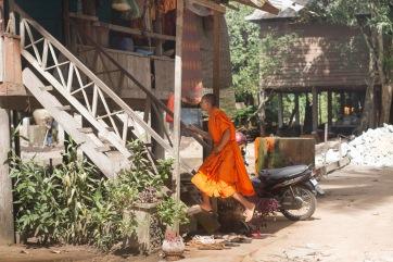 levitating monk