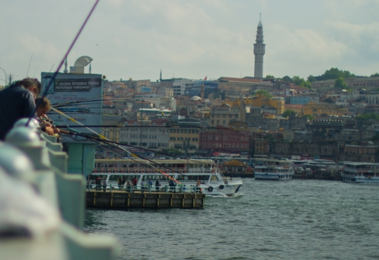 fishing the golden horn